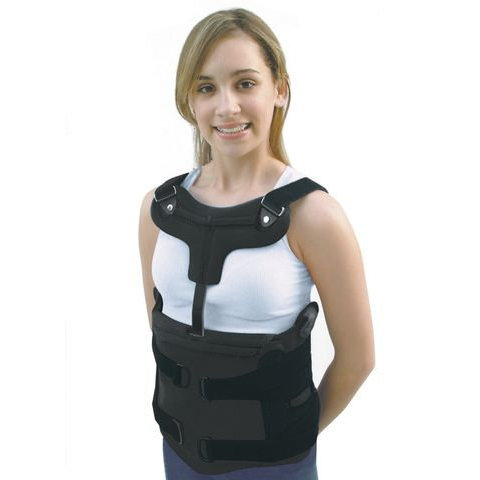Torso - TLSO w/Sternal Attachment - Short Apron Front