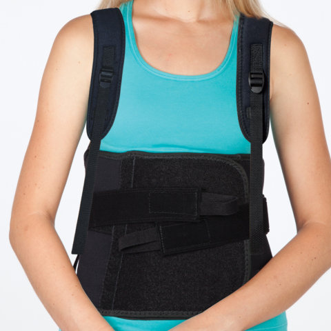 Torso - Thoracic Lumbar Support with Side Panels