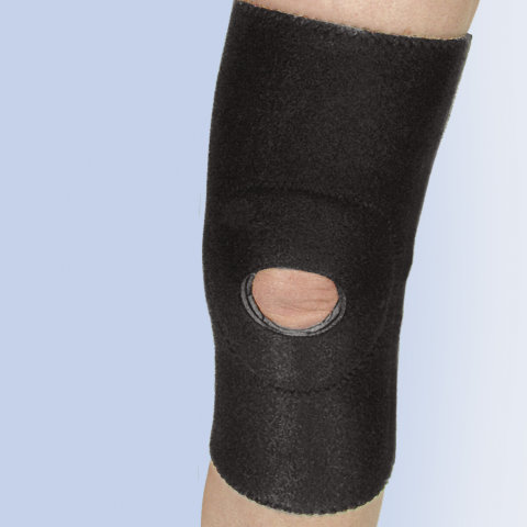 Neoprene Knee Sleeve w/ Patella Ring