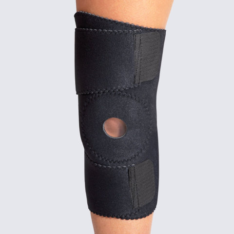 Leg - Wrap Around Knee Brace w/ Buttress (No Hinges)