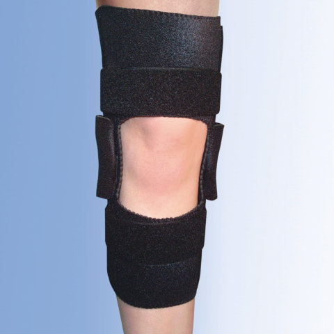 Neoprene Wrap Around Knee Brace w/ Free ROM