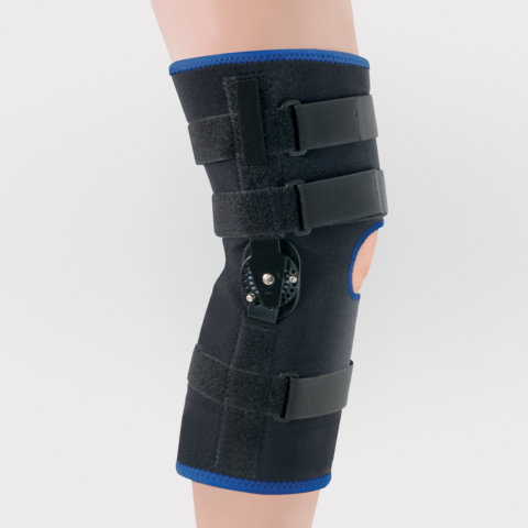 Pediatric - Leg - Deluxe Wrap Knee Brace